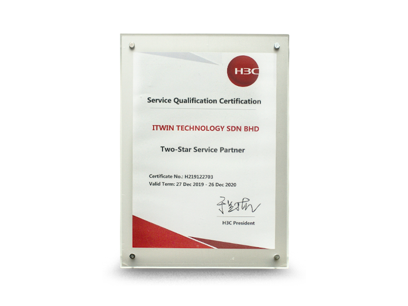 Two- Star Service Partner 2019 - 2020